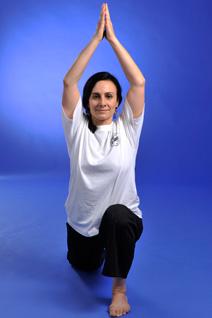 Yoga-Lehrerin der Kampfsportschule Aarau Karin Ramany Lüscher